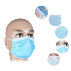 Medical disposable anti-bacterial mouth mask 50 pieces