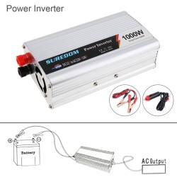 1000W - DC 12V 24V - AC 220V - 110V - USB - car power inverter - adapter charger - voltage converter