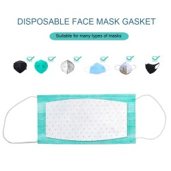 Replaceable face mask filter - filter pad - 100 pieces