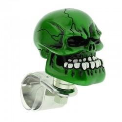 Green skull head - steering wheel ball