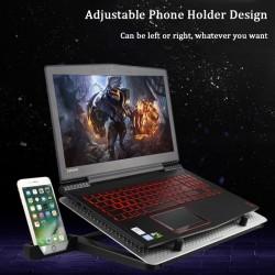 12-17 inch cooling fan for MacBook & laptop - stand - adjustable holder