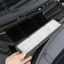 Air conditioning inlet replacement filter for Tesla Model 3