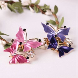 Double Butterfly Brooches