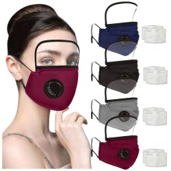 Respirator face masks - reusable - 2pcs filter