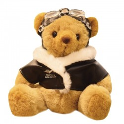 Teddy bear - plush toy - goggles