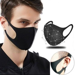 Anti-bacterial protective face mask - mouth mask - dust proof - washable - 5 pieces