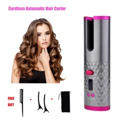 Automatic - cordless - hair curler - wireless - usb - rechargeable - styling tools
