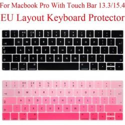 EU Keyboard Protector - Macbook Pro 13 - 13.3 - Silicone - Protection