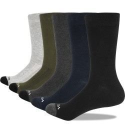 Breathable - Cotton - Socks - Work Socks - 5 Pairs