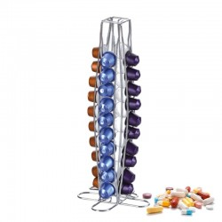 40 Nespresso coffee capsules holder - tower stand