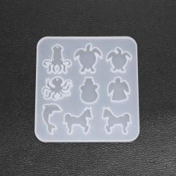 Marine Life - Animal - Silicone Mold - Jewelry Making Tools