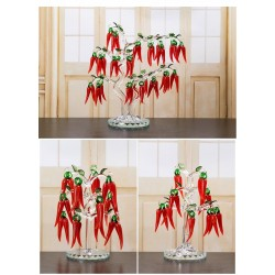 Crystal - Creative - Chili Tree - Ornaments