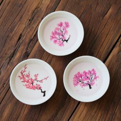 Ceramic mug - color change in hot and cold temperature - Japanese Sakura