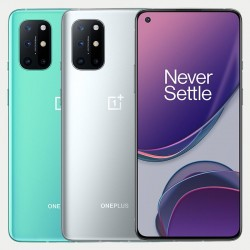 OnePlus 8T 5G - dual sim - NFC - Android 11 - 8GB 128GB - 6.55 inch - 48MP Quad Camera - 65W - Warp Charge