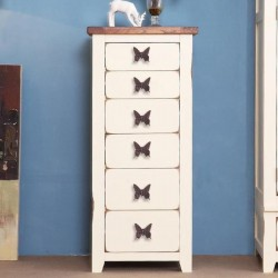 Vintage furniture handle - butterfly