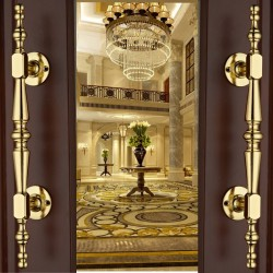 Luxury gold furniture handle - wardrobe - cabinet - drawer - door