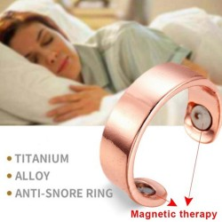 Anti Snoring Device - Adjusted Ring - Magnetic Therapy