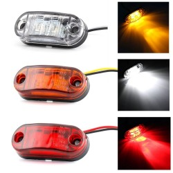 Auto Clearance Taillight - 2 LED Lamp - Car - Truck