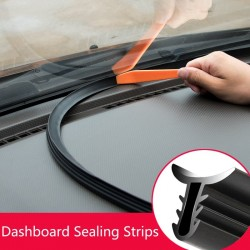 Car soundproof - rubber seal - dashboard sealing strip for BMW