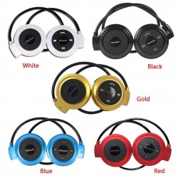 Wireless Bluetooth earphones - MP3 - headset with microphone