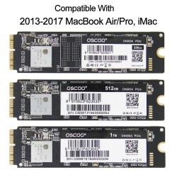 256GB - 512GB - 1TB - SSD for Macbook Air A1465 A1466 Macbook Pro Retina A1502 A1398 iMac A1419 A1418