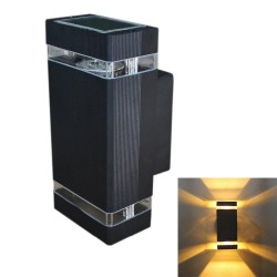 Modern outdoor wall light - waterproof lamp - 8W - LED