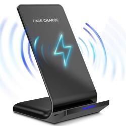 10W / 15W - wireless charger - fast charging - stand for iPhone / Samsung