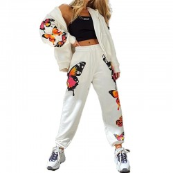 Butterfly hoodie set - with hoodie and pants