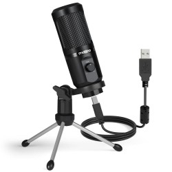 Maono - Microphone condenser - PC - Livestreaming - with Tripod