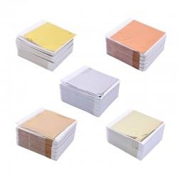 8 - 14 cm - foil paper sheets - gold - silver - home - art craft - decoration - 100 pieces