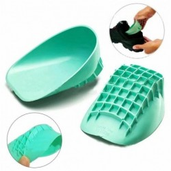Silicone heel cup support - for shoes - foot pain relief - anti-fatigue