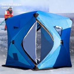 Winter warm tent - for ice fishing / camping - windproof - waterproof - anti-snow - large space