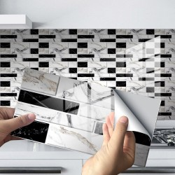 3D wall sticker - self-adhesive tiles - brick simulation - waterproof - 20 * 10cm - 12 / 24 pieces