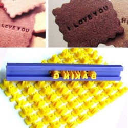 Baking silicone mould - alphabet letters