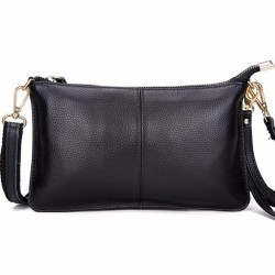 Genuine Leather Women's Clutch Small Shoulder Purse Bag