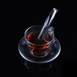 Pipe shaped tea infuser - stainless steel strainer