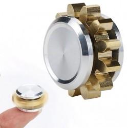 Mini gear metal hand fidget spinner