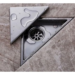Triangle shower floor water drain 232 * 117mm
