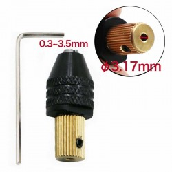3.17mm electric motor shaft mini chuck