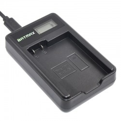 LCD USB battery charger for Nikon camera D600 D610 D600E D800 D800E D810