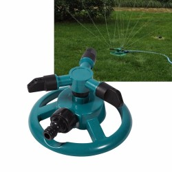 360 degrees rotating garden sprinkler