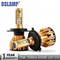Oslamp LED Headlight Bulbs H4 - H7 - H11- 9005 - 9006 70W 7000LM 6500K