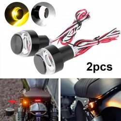 12V LED motorcycle handlebar turn signal lights 2 pcs