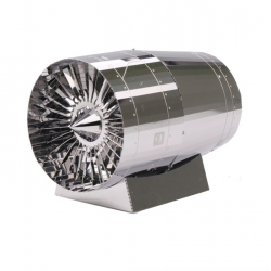 3D turbine engine metal puzzle