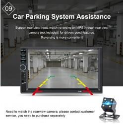 Bluetooth car radio - DIN 2 - 7'' Inch LCD touch screen - MP3-MP5 player - USB - MirrorLink