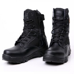 Military - tactical leather boots