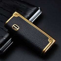 Leather windproof lighter