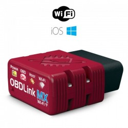OBDLink MX Wi-Fi professional OBD2 scan tool for Windows & Android - car data diagnostics