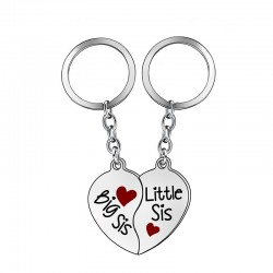 Big Sister & Little Sister - keychain 2 pieces