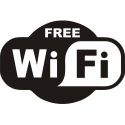 FREE WiFi - sticker